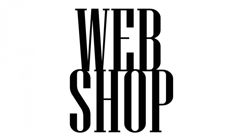 WEBSHOP - VISIT IT NOW!